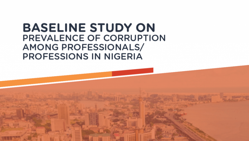 Baseline Study Report on Corruption Perception Among Professionals