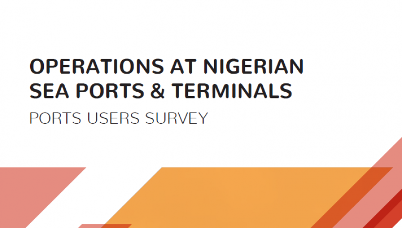 Report on Operations at Nigerian Seaports