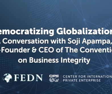 Democratizing Globalization CIPE Integrity