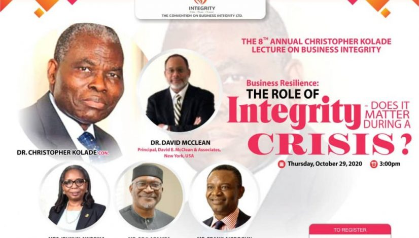 Register for 8th Christopher Kolade Lecture