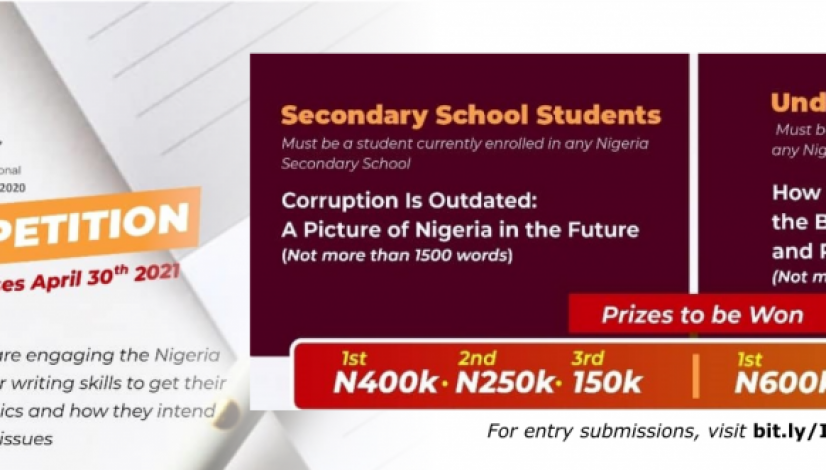 Integrity Anniversary Essay Competition